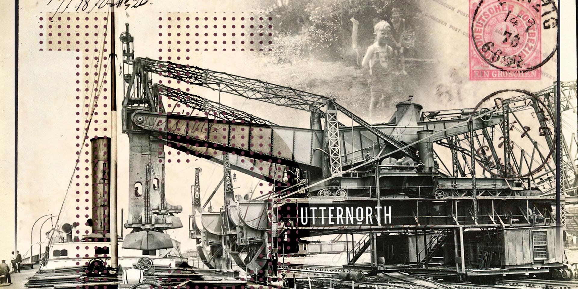 grue vintage industriel