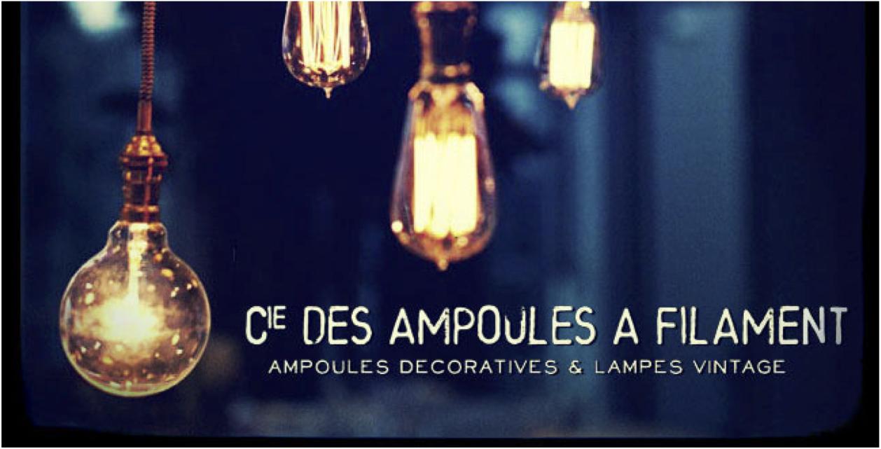 ampoules luminaires décoration
