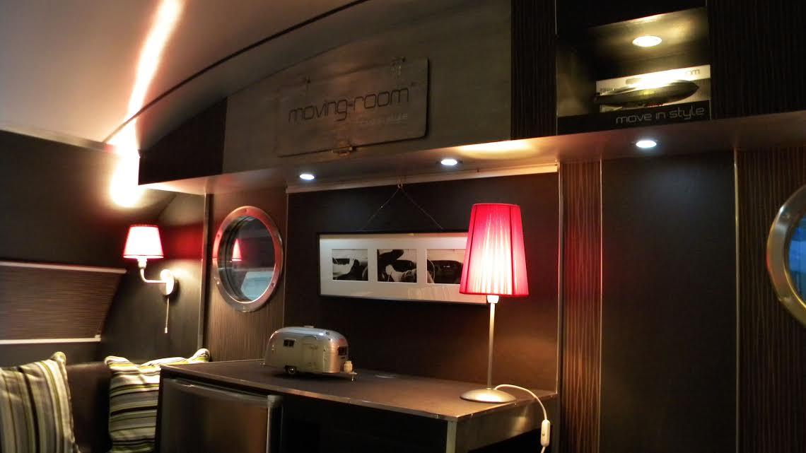 moving room caravane décoration