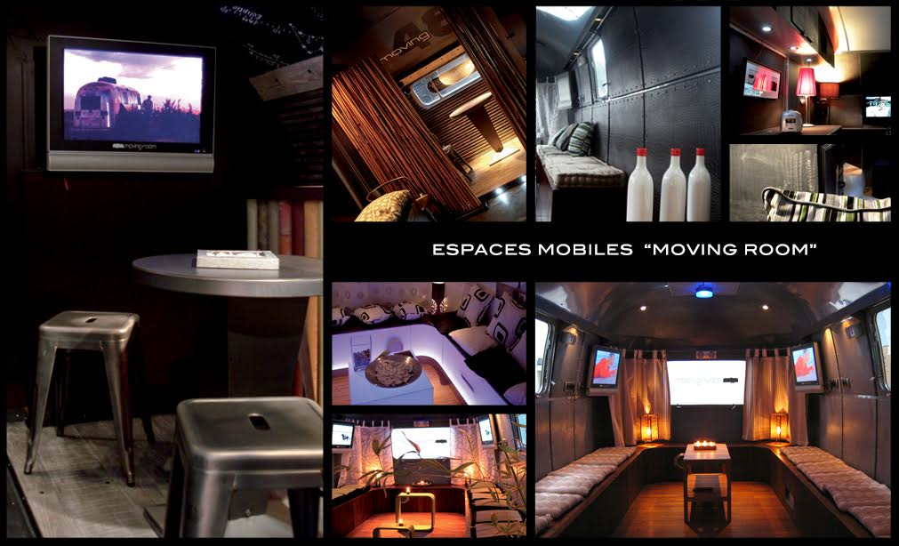 espace mobile moving room