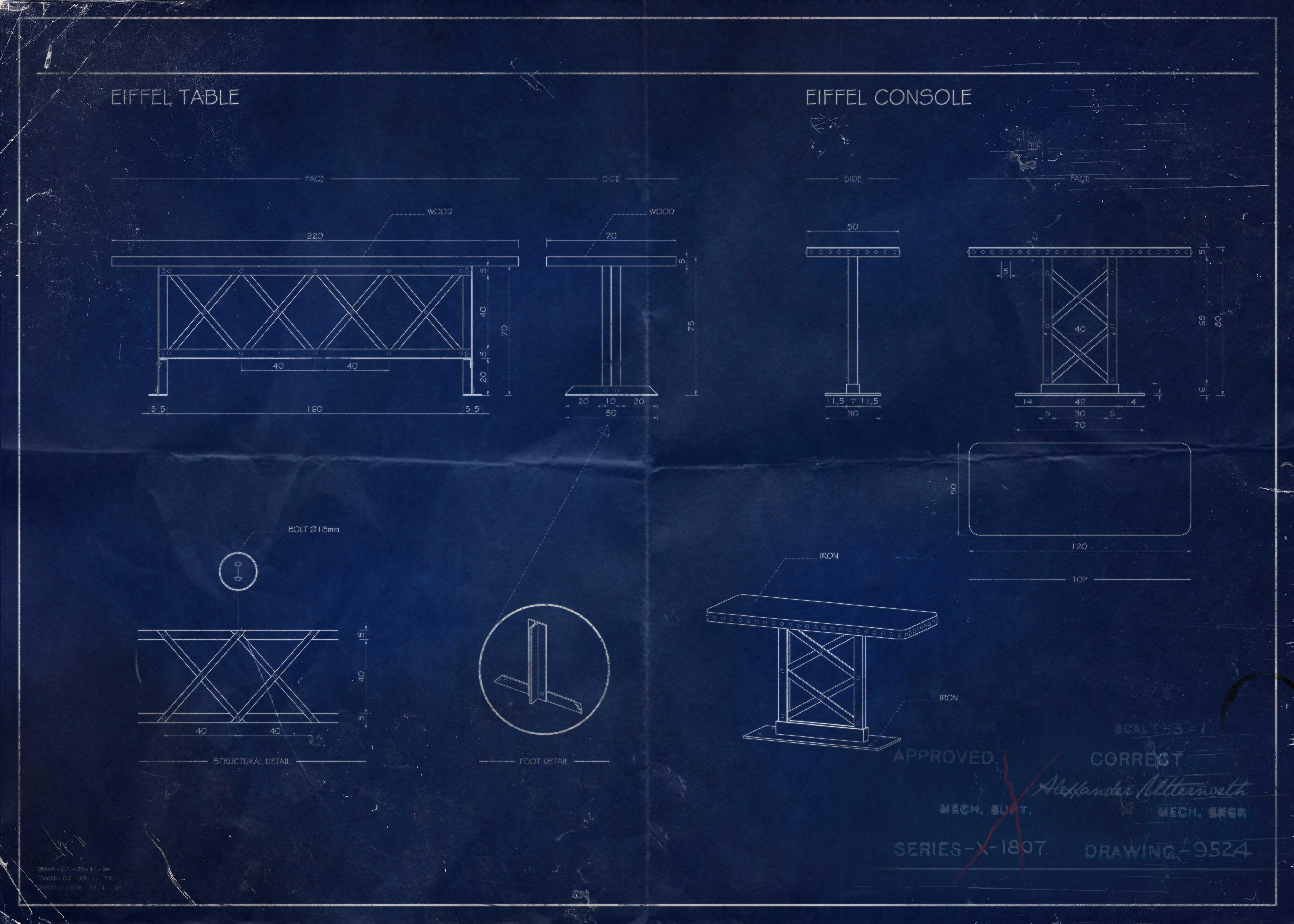 blue print architecture intérieur
