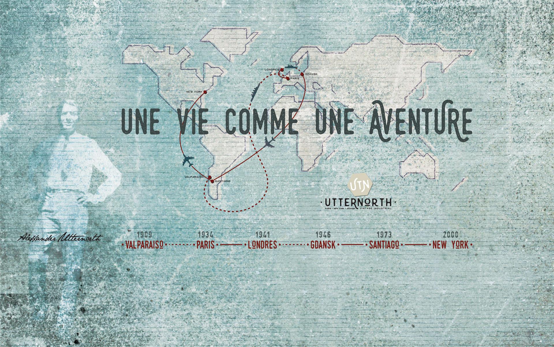 vie aventure voyage UTTERNORTH